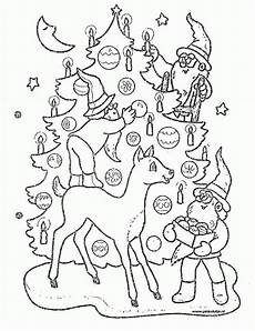 Ausmalbilder Weihnachten Tree Coloring Pages Coloringpages1001