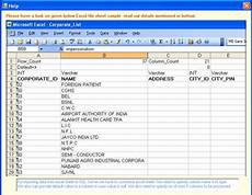 interoperation processing excel sheet data