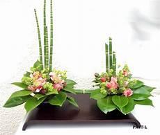 Composition Florale Sur Un Plateau J Ai Coll 233 Deux