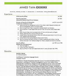 chief security officer resume sle officer resumes