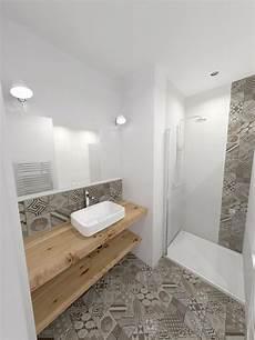 salle de bain avec carreaux de ciment souplex p 232 re lachaise transformation commerce en
