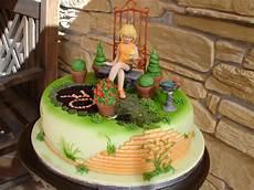 Kuchen Mit Fondant - brigittes tortendesign garten torte mit rosenbusch step