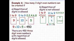 The Fundamental Counting Principle  YouTube
