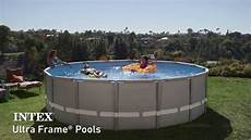 piscine intex ultra frame piscines tubulaires rondes