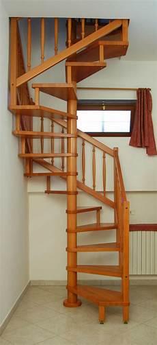 Escalier Bois Helicoidal Carre