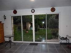 tarif baie vitrée baie vitr 233 e 224 galandage alu 4 vantaux maison bois