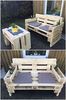Gartensofa Aus Paletten Pallets Pallet Projects And