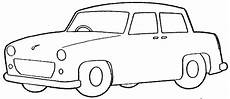 Black And White Car Clipart