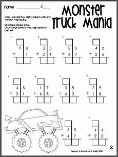 addition box worksheets 8793 great way to hook your boys and the it truck digit addition