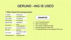 infinitive and gerund esl