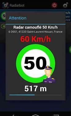 Radarbot Gratuit Radars Application Android
