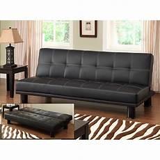 leather futon faux leather bycast adjustable futon sofa colors