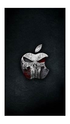 the punisher iphone wallpaper 1080p hd wallpaper apple logo blue background sonu