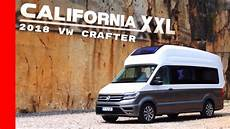 2018 Vw Crafter California Concept