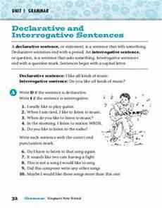 interrogative worksheets 18912 declarative and interrogative sentences worksheet for 2nd 3rd grade lesson planet