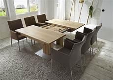 Tisch 90x90 Ausziehbar - e 223 tisch simon in kernbuche quadratisch