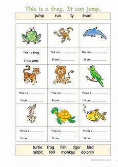animals abilities worksheets 13782 pin on pre k activity