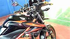 Cb150r Modif Touring by Modifikasi Honda Cb150r Streetfire Touring Modification