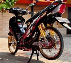 Supra X 125 Modifikasi Minimalis by 50 Gambar Modifikasi Honda Supra X 125 Simpel Elegan