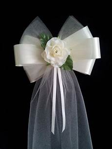 pew bow ideas pew bow diy wedding pinterest