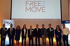 Free2move La Nouvelle Marque De Psa D 233 Di 233 E Aux Mobilit 233 S