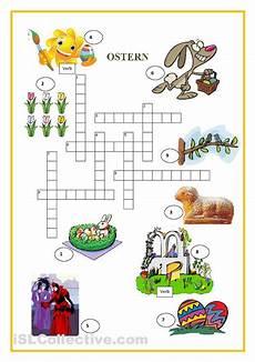 kreuzwortr 228 tsel a2 ostern worksheets