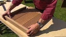fabriquer un banc de jardin fabriquer des meubles de jardin