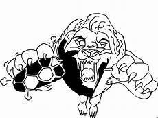 loewe faengt fussball ausmalbild malvorlage comics