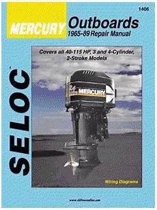 free online car repair manuals download 1989 mercury cougar electronic throttle control 1965 1989 mercury outboards 3 4 cyl seloc repair manual