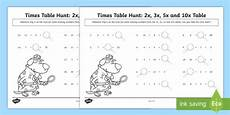 2 3 5 and 10 times tables missing numbers worksheet ks1 maths tables