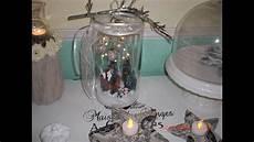 weihnachtliche deko im glas winterglas variante 2 winter im glas weihnachten im