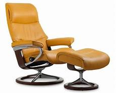 Fauteuil Grand Confort Inclinable En Cuir Stressless View