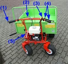 motorschubkarre dumper minidumper schubkarre am350 ebay