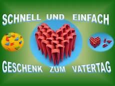 Ideen Zum Vatertag - diy origami herz einfach basteln geschenk zum vatertag