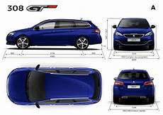 Dimension Peugeot 308 Sw New Peugeot 308 Sw Technical And