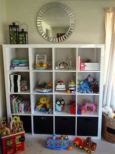 ikea expedit in the playroom schue