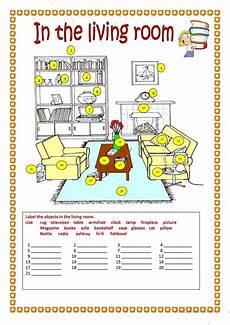 worksheets rooms 19037 in the living room worksheet free esl printable worksheets made by teachers