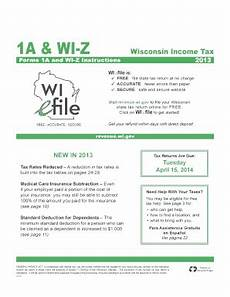 wi z instructions 2014 fill online printable fillable blank pdffiller