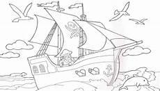 piratenschiff malvorlage studio design gallery