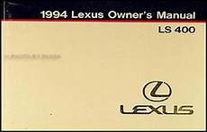 all car manuals free 1989 lexus ls transmission control 94 lexus ls400 owners manual pdf jiloiahtar