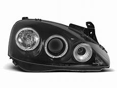 opel corsa c scheinwerfer headlights for opel corsa c 2000 2006 black