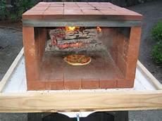 backofen selber machen ziegel four a pizza exterieur