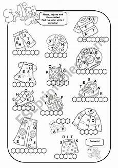 worksheets clothing 18811 clothes esl worksheet by miss cecilia