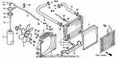 honda ht4213 sa lawn tractor jpn vin maat 5000001 to maat 5099999 parts diagram for radiator