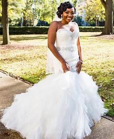 2017 wedding dress mermaid tulle african black women