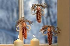 Zapfen Engel Weihnachtsbasteln Basteln Weihnachten