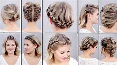 10 super easy faux braided short hairstyles topsy tail