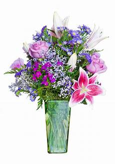 Bunch Lilac Flowers In Vase On Table Stock Image Image