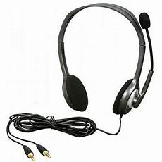 Logitech Headset H 111 Stereo logitech h110 stereo headband headset with boom microphone