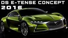 2016 Ds E Tense Concept Review Rendered Price Specs